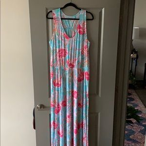 EUC HOLY GRAIL jellies be jamming maxi dress xl